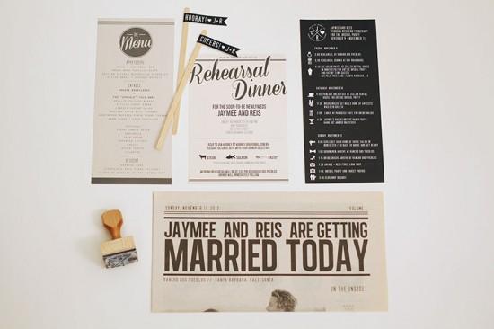 Modern-California-Wedding-Rehearsal-Dinner-Invitations-Details-JayAdores-550x366