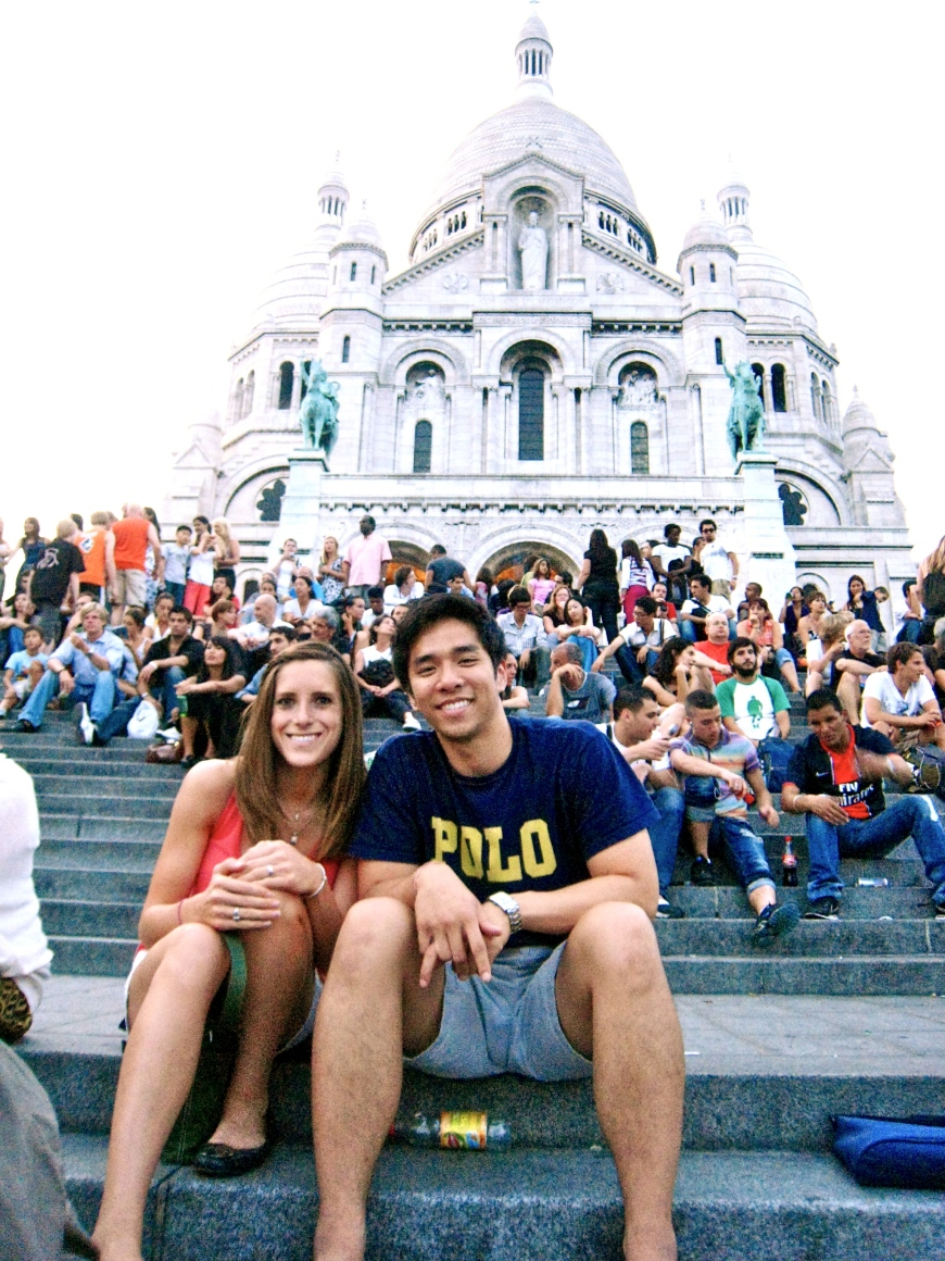 Andrew and I on Steps of Sacre-Coeur_2