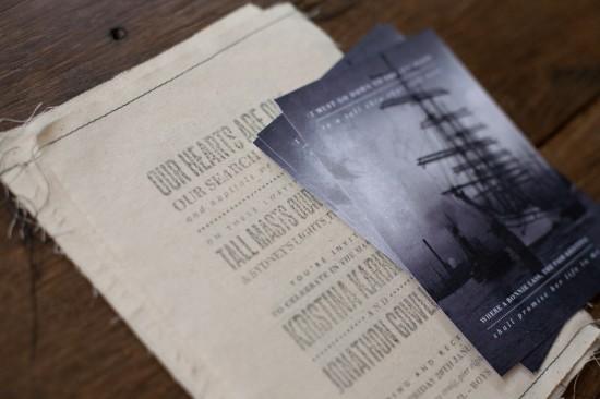Fabric-Rubber-Stamp-Sydney-Harbor-Wedding-Invitations2-550x366