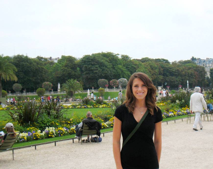 Finally In Luxembourg Gardens