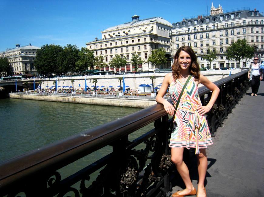 Me with Paris Plages