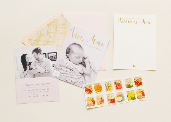 Peach-Gold-Girl-Baby-Announcements-Val-Marie-Paper