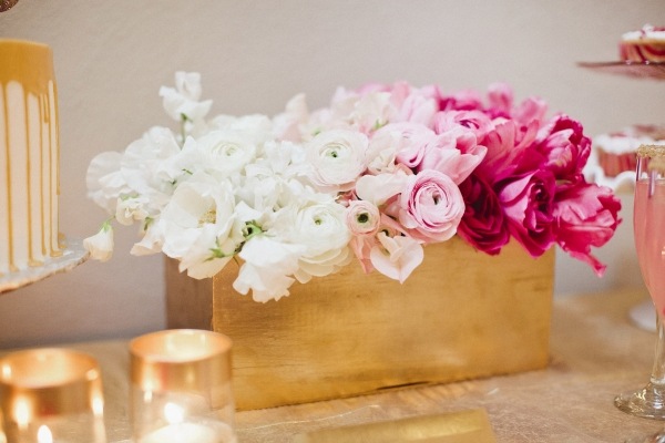 pink-ombre-centerpiece