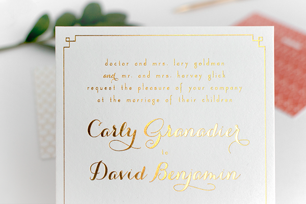Coral-Gold-Foil-Glam-Wedding-Invitations-Alisa-Bobzien2