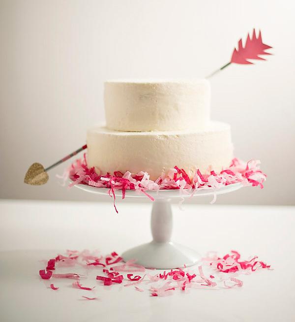 cupidsarrowcake
