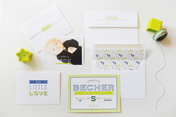Chartreuse-Letterpress-Birth-Announcement-Maison-Yellow5