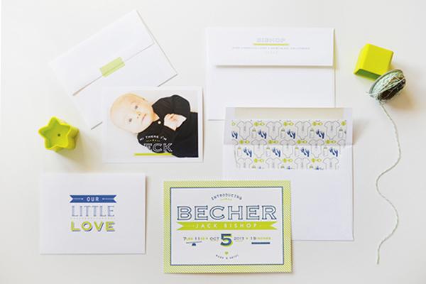 Chartreuse-Letterpress-Birth-Announcement-Maison-Yellow5