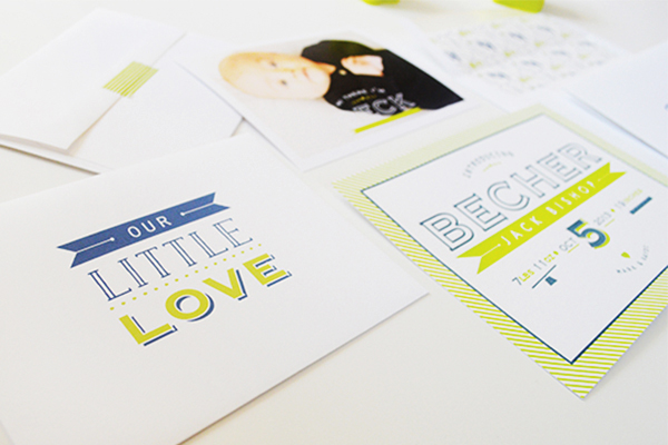 Chartreuse-Letterpress-Birth-Announcement-Maison-Yellow7