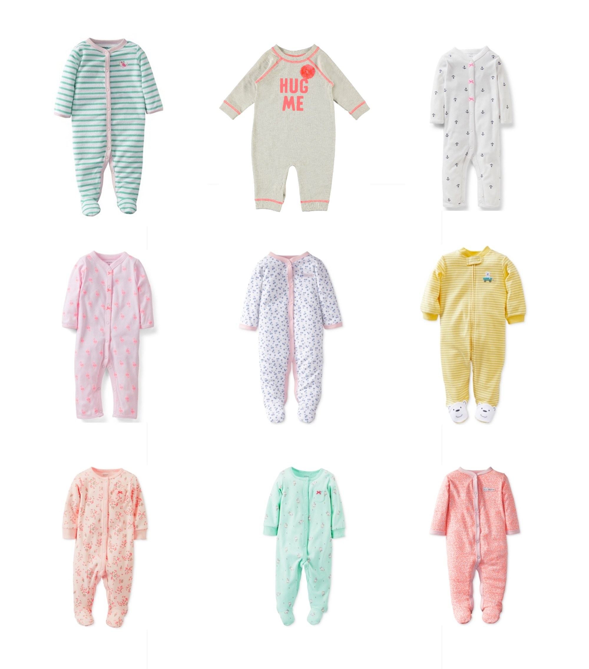 e05347cde Carter's Footed Onesies – Snapshots & My Thoughts | A Lifestyle Blog ...